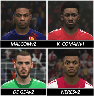 PES 2017 Facepack May 2019 by BenHussam Facemaker