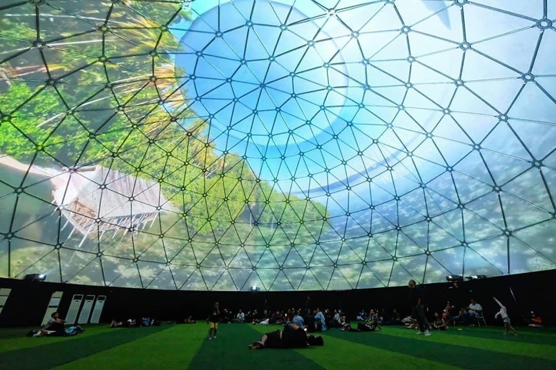 Wisata Teknologi 360 Dome Theatre Jogja