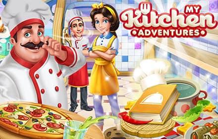 لعبة مغامراتي في المطبخ