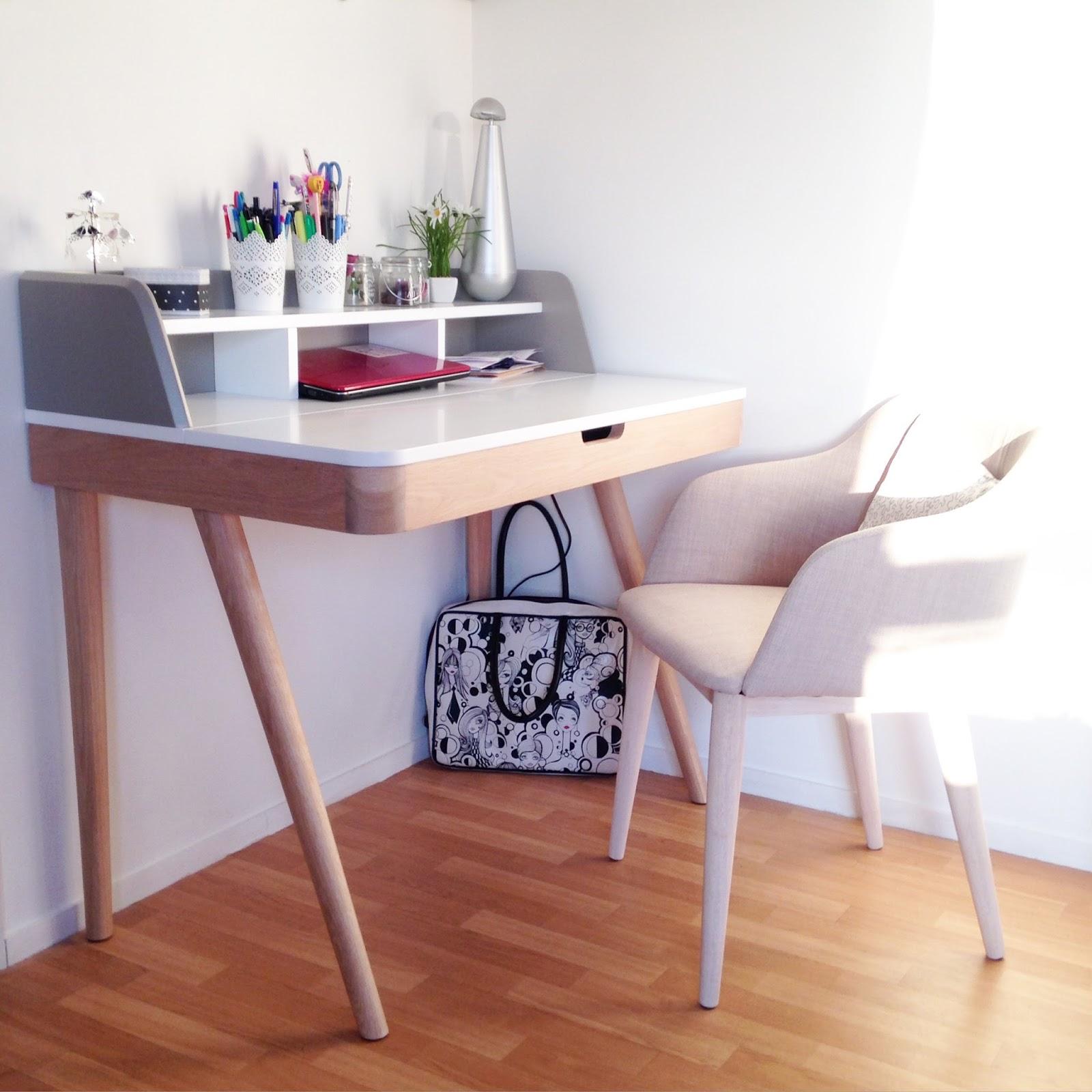 bureau scandinave alinea kinna fauteuil cork