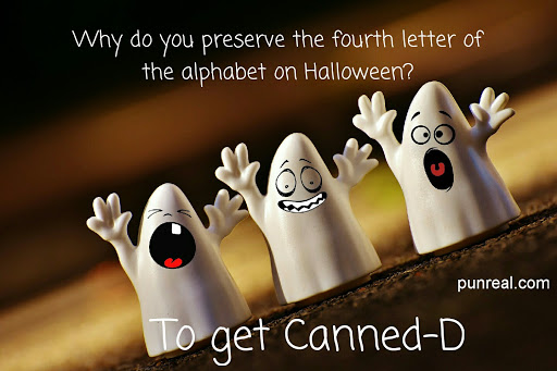This halloween pun is so bad it might get me canned.