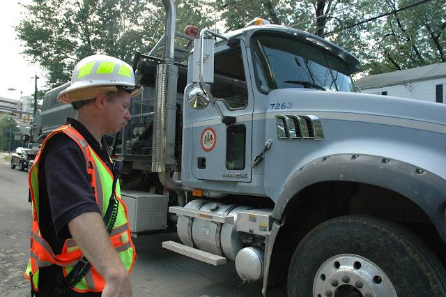 Fairfax Count Pump Truck