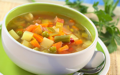 Plan no 2 Lunch - Vegetable soup
