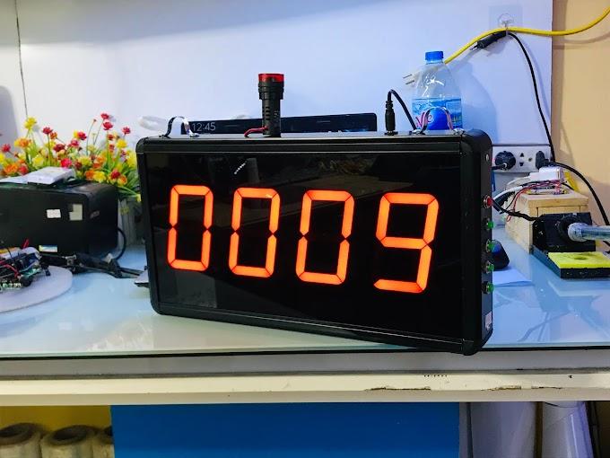 Đồng hồ đếm ngược hiệp chơi thi đấu