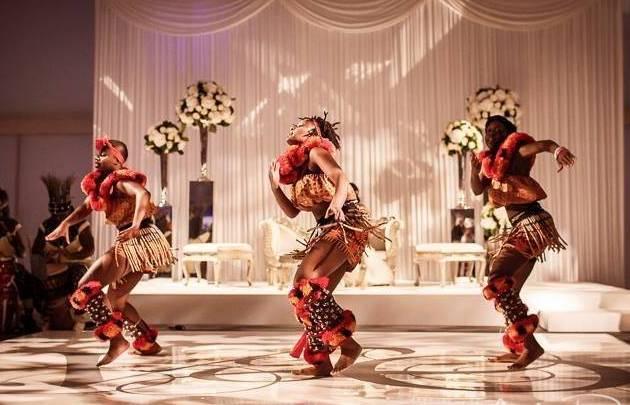 Adanta African Dancers for Wedding Hire