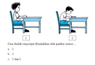 soal cara duduk