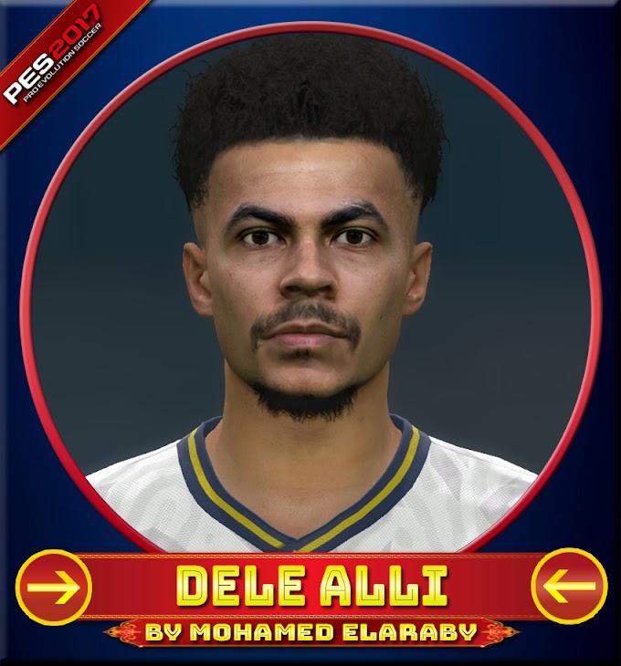 Dele Alli Face Tottenham Hotspur Player - PES 2017
