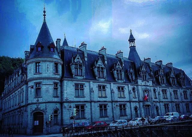 The building of Préfecture du Finistère in Quimper