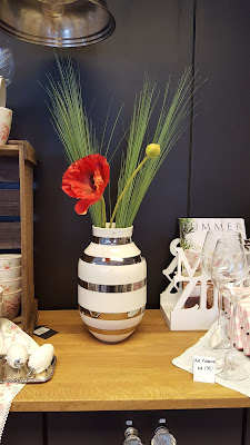 kunstige blomster til kahlervase