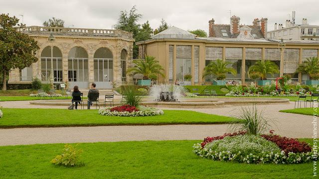 Parque Thabor visitar Rennes Bretaña Francia diario viaje