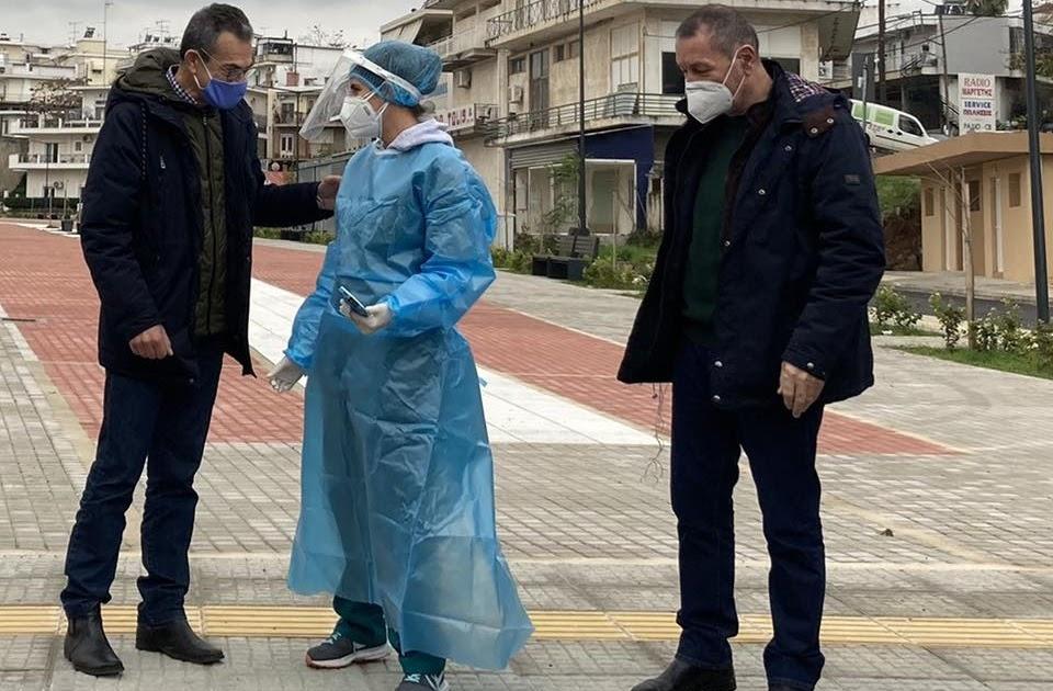 Κορονοϊός : 1 θετικό δείγμα rapid tests στην Θηβα στα 165 rapid tests