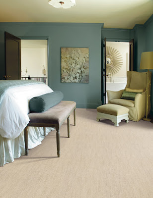light colored carpet in a bedroom setting