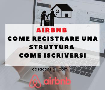 come registrare una struttura su airbnb