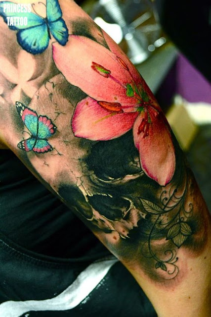 Amazing Half Sleeve Tattoo For Men