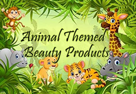 Animal Themed Beauty Products