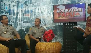 Biro SDM Polda Papua Sosialisasi Rekrutmen Anggota Polri di Jaya TV
