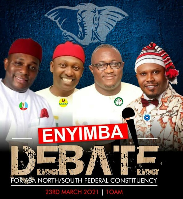 Aba North/South Rep Seat By-Election: Candidates  to Unveil Vision in  Live Debate
