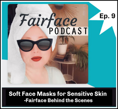 soft flannel face masks for sensitive skin by the makers of Fairface Washcloths