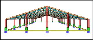 perencanaan struktur baja untuk gudang