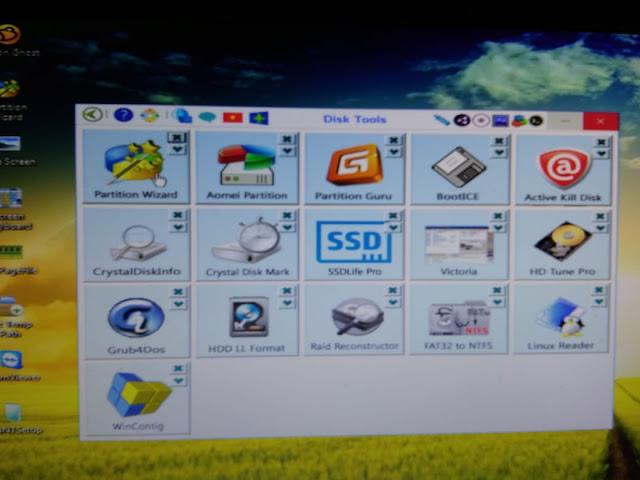 Disk Tool DLC Boot