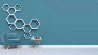 Hiasan Rak Hexagonal