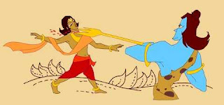 Battle with Lord Shiva