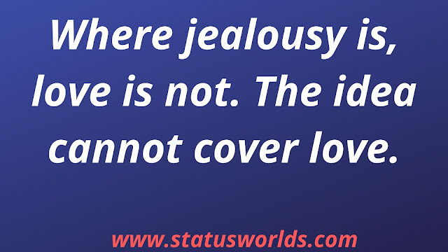 Jealous Status and Quotes