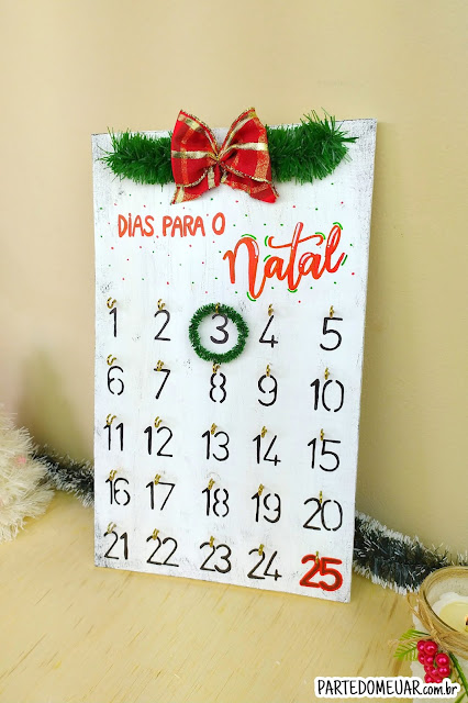 calendario de natal