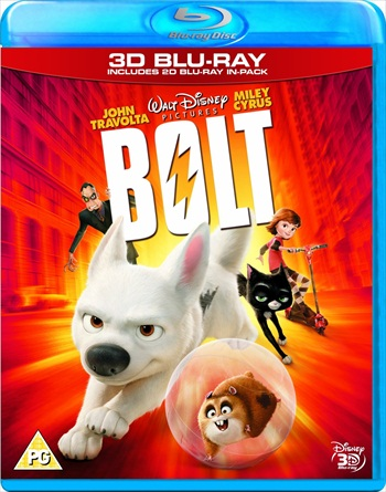Bolt 2008 Dual Audio Hindi 720p BluRay 800mb