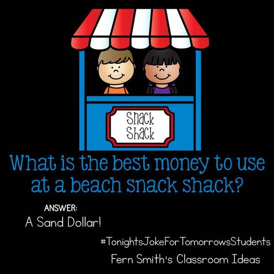 Tonight's Joke for Tomorrow's Students from Fern Smith's Classroom Ideas #FernSmithsClassroomIdeas