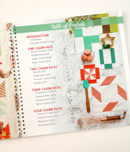 Perfect 5 Quilts book by It's Sew Emma found on A Bright Corner blog