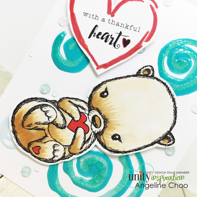 ScrappyScrappy: Cute Cuddlebugs with Unity Stamp - Cuddlebug Otter #scrappyscrappy #unitystampco #cardmaking #card #craft #crafting #scrapbook #papercraft #stamp #stamping #youtube #quicktipvideo #video #otter #nuvodrop #tonicstudios #nuvoglitterdrop #nuvojeweldrop #copicmarkers