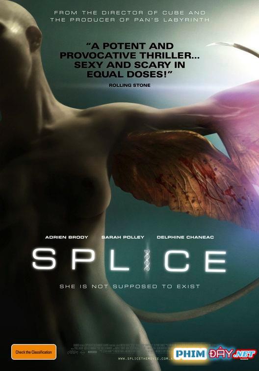 NGƯỜI LAI - Splice (2010)