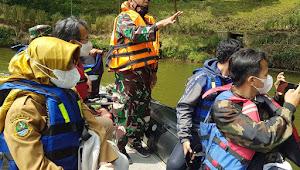 Satgas Citarum Sektor 1 Terima Kunjungan Tim Dinas Ketahanan Pangan Dan Perikanan Serta Balai Benih Ikan Kab. Bandung