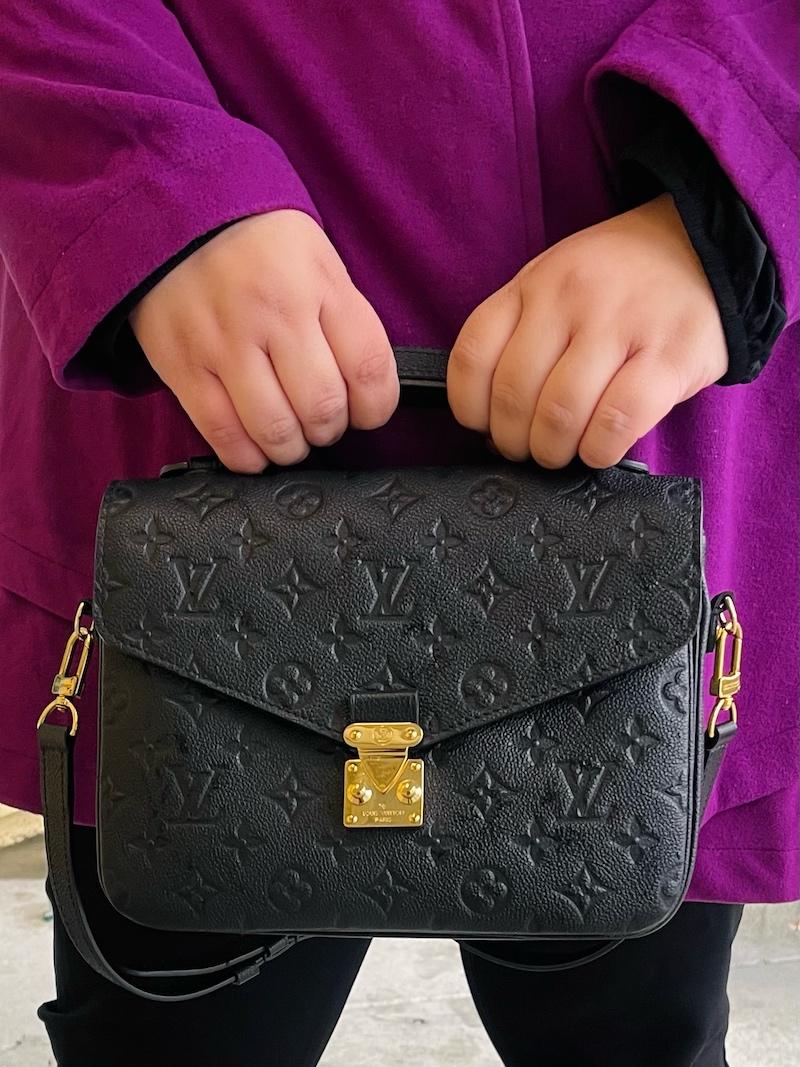 Louis Vuitton Pochette Metis Empreinte Leather
