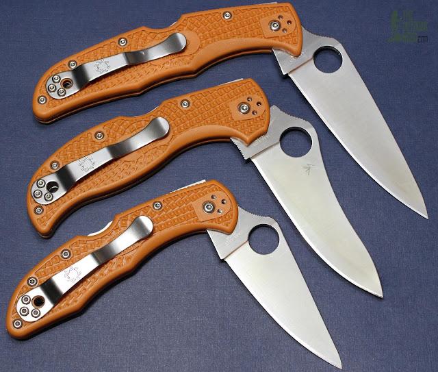 Spyderco HAP40 Endura - Triplets 1
