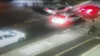 Vídeo mostra bombeiro sendo morto e arrastado durante 20 metros por motorista bêbado