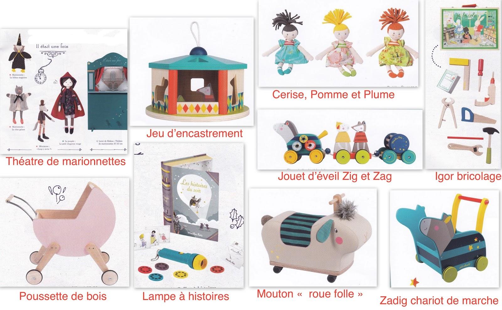 Je n avais pas imaginé que la gamme de Moulin Roty pouvait être aussi  complète  vêtements Les Petits Habits , marionnettes ( avec théâtre ),  adorables ... 4c0225084b4d