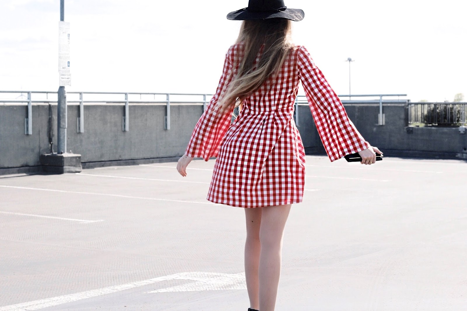 Fashion Blog How to Style a Short Gingham Dress