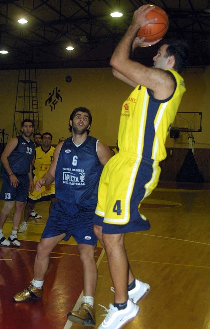 Ρετρό: Φωτορεπορτάζ από τον αγώνα Ελπίδες Ηλιούπολης-Δόξα Δρυμού για την Α΄ ΕΚΑΣΘ ανδρών την περίοδο 2004-2005