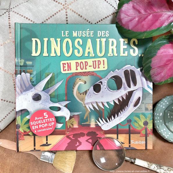 Le musée des dinosaures... en pop up !