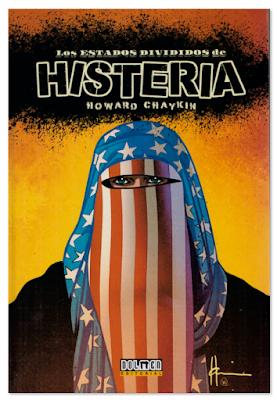 Los estados divididos de Histeria de Howard Chaykin edita en España Dolmen