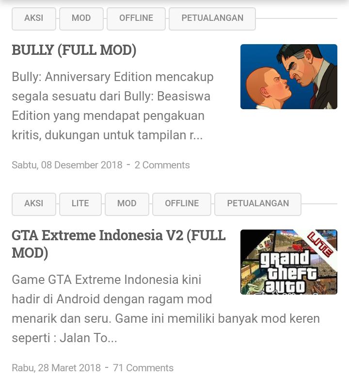 Scopri ricette, idee per la casa, consigli di stile e altre idee da provare. Download Gta Extreme Indonesia Android Lite Dan Full Version Infotechku