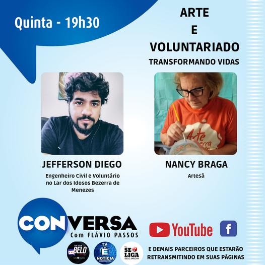 Confira as atrações do programa Coversa com Flávio Passos às 19h30