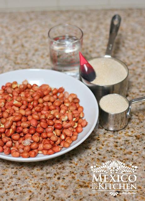 garapiñados Candied peanuts recipes mexican