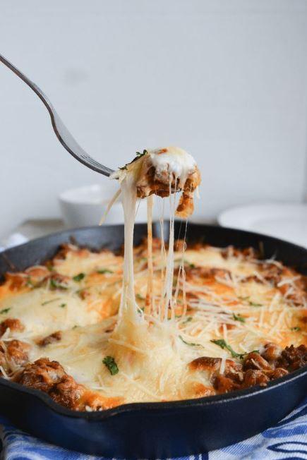 Easy Keto Lasagna Bake | Ditch the Noodles