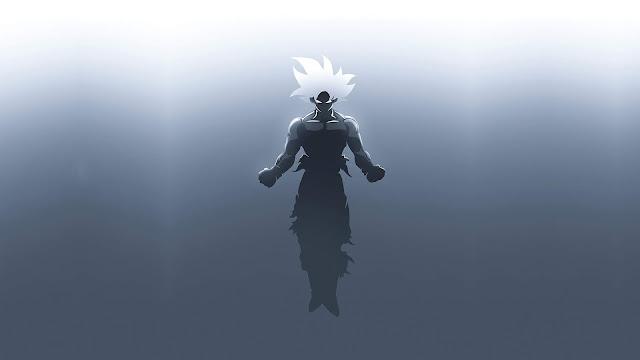 Papel De Parede Minimalista Goku