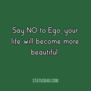 Best Attitude Ego Status and Quotes