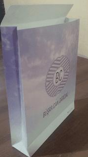 marka baskılı lüx hediye karton poşet fiyatları