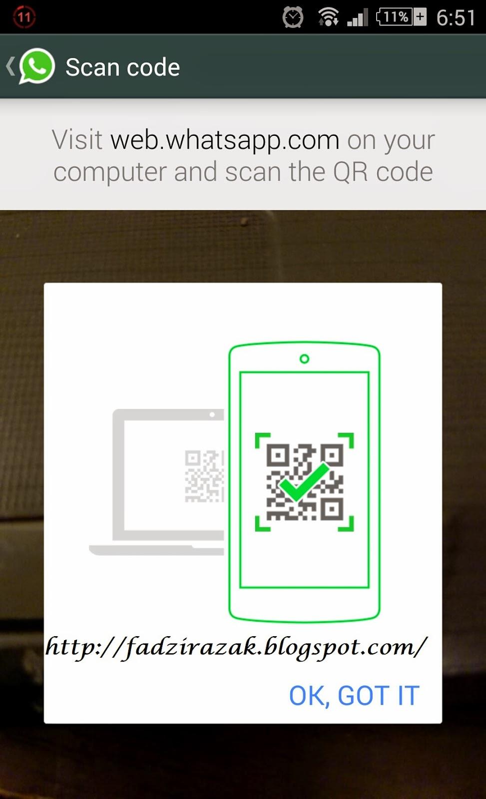 Scan code QR